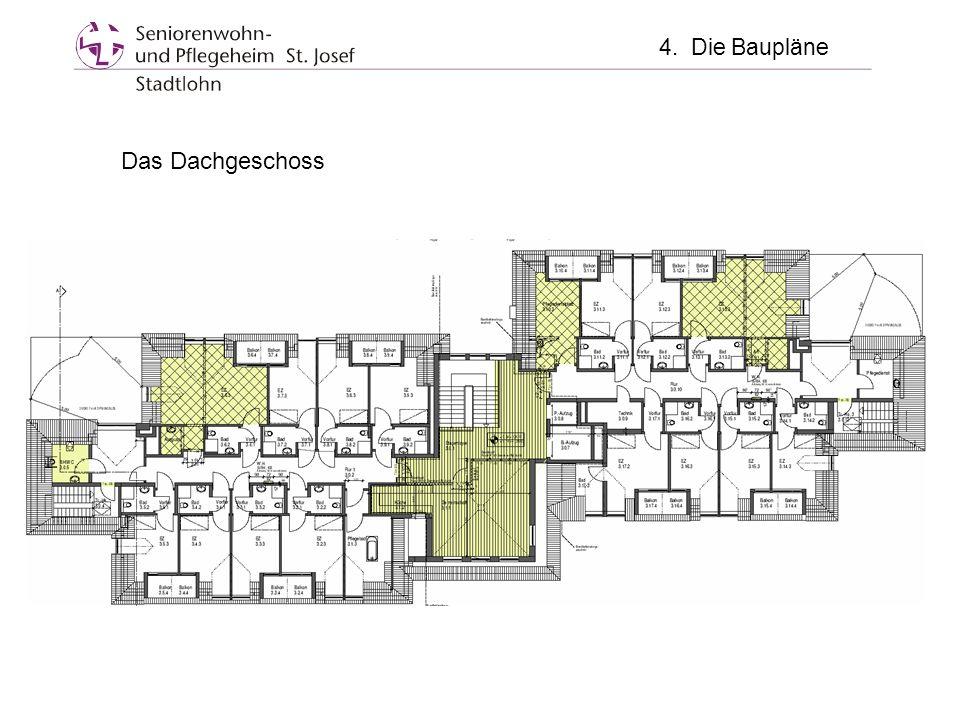 4. Die Baupläne Das Dachgeschoss