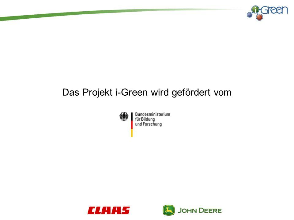 Das Projekt i-Green wird gefördert vom