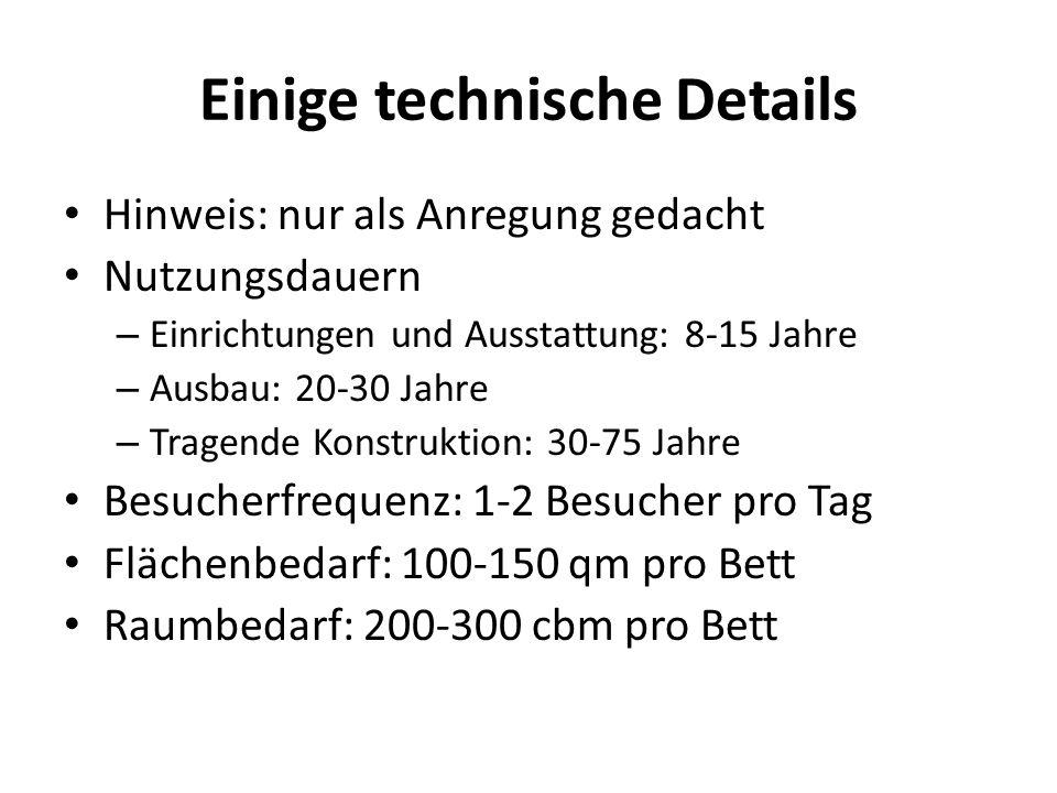 Einige technische Details