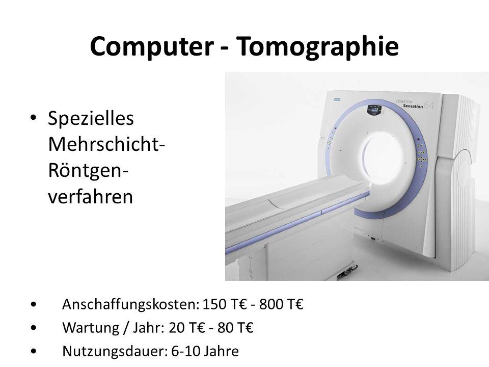 Computer - Tomographie