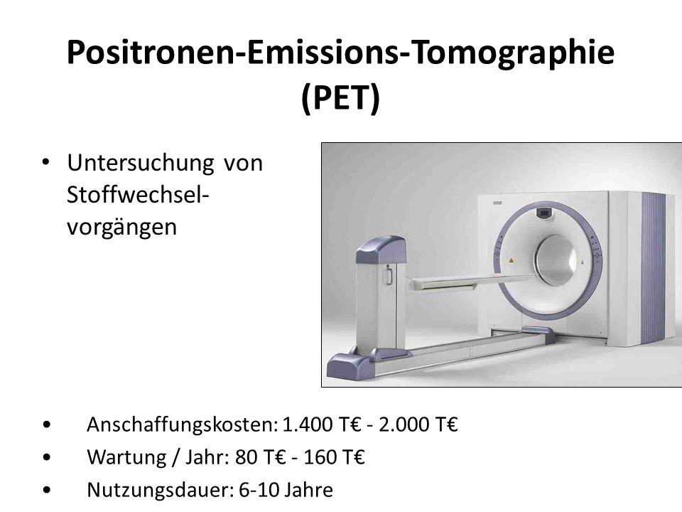 Positronen-Emissions-Tomographie (PET)
