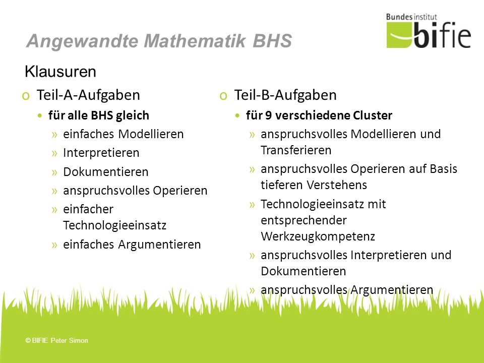 Angewandte Mathematik BHS