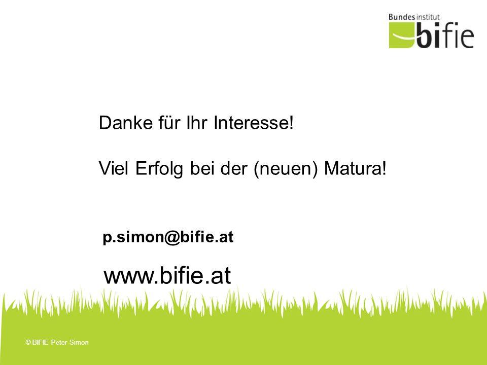 www.bifie.at Danke für Ihr Interesse!