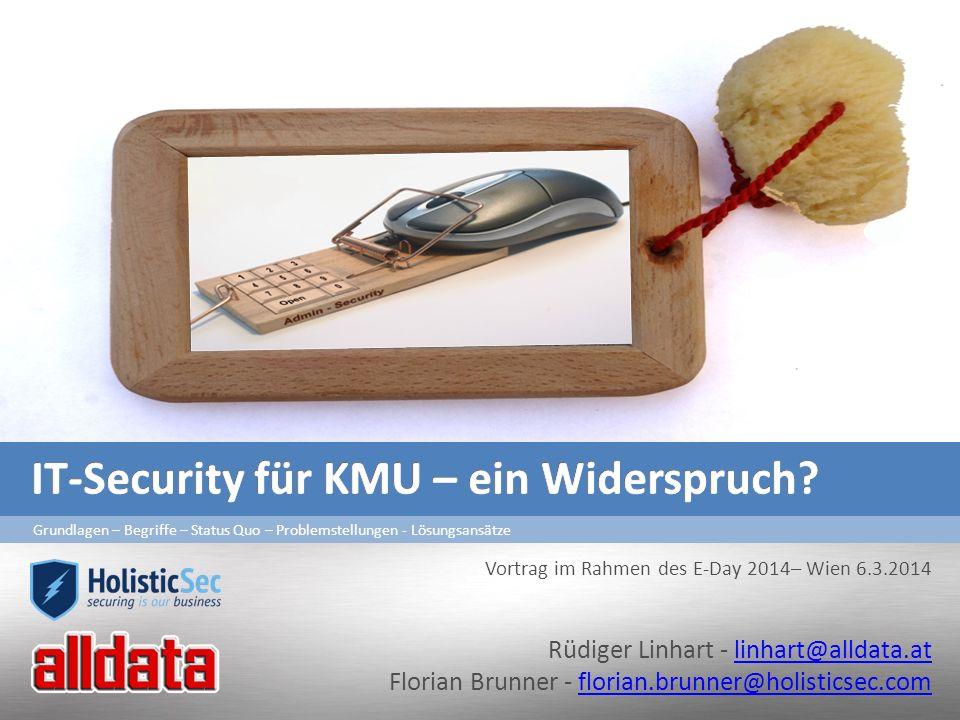 IT-Security für KMU – ein Widerspruch