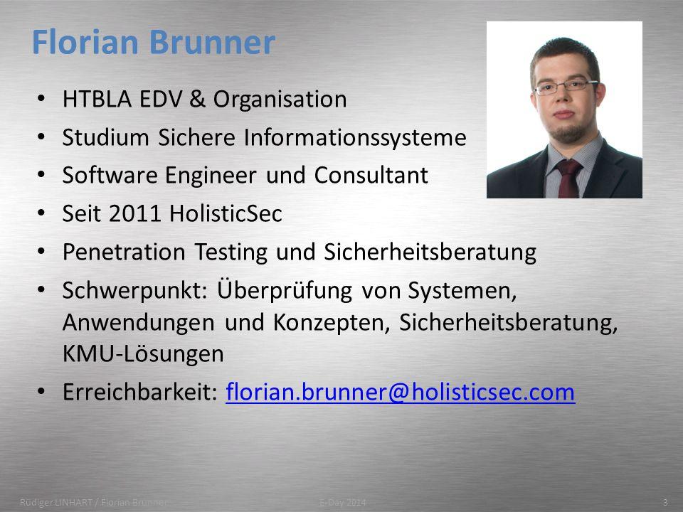 Florian Brunner HTBLA EDV & Organisation