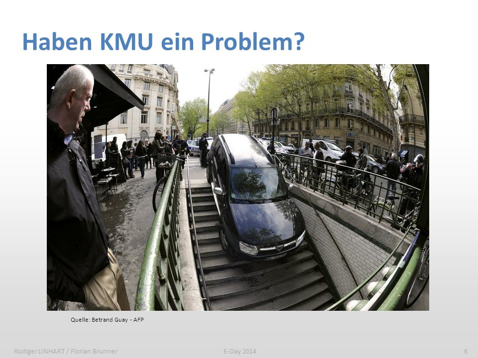 Haben KMU ein Problem 6 KMU sind von IT betroffen