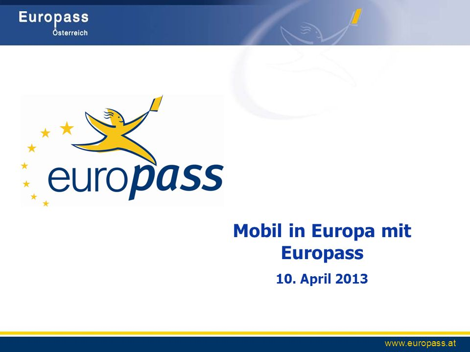 Mobil in Europa mit Europass