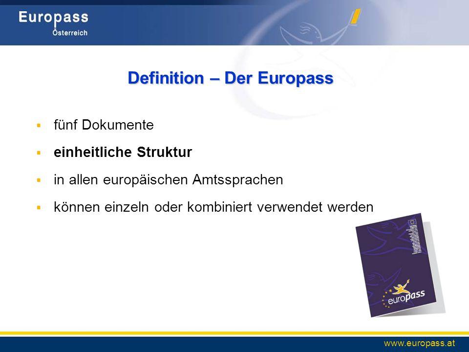 Definition – Der Europass