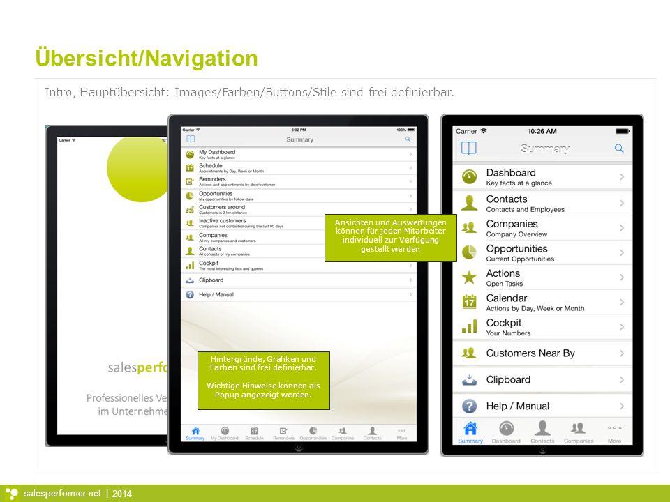 Übersicht/Navigation