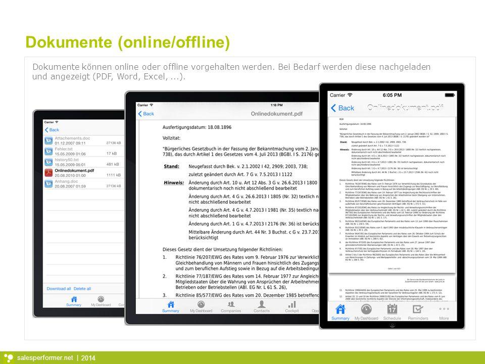 Dokumente (online/offline)