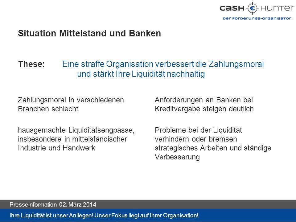 Situation Mittelstand und Banken
