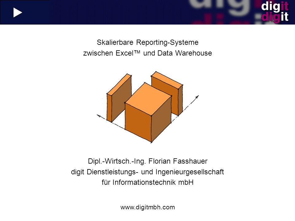 Skalierbare Reporting-Systeme zwischen Excel™ und Data Warehouse