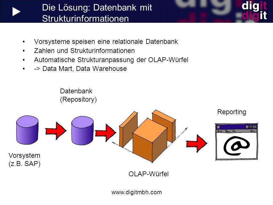 Die Lösung: Datenbank mit Strukturinformationen