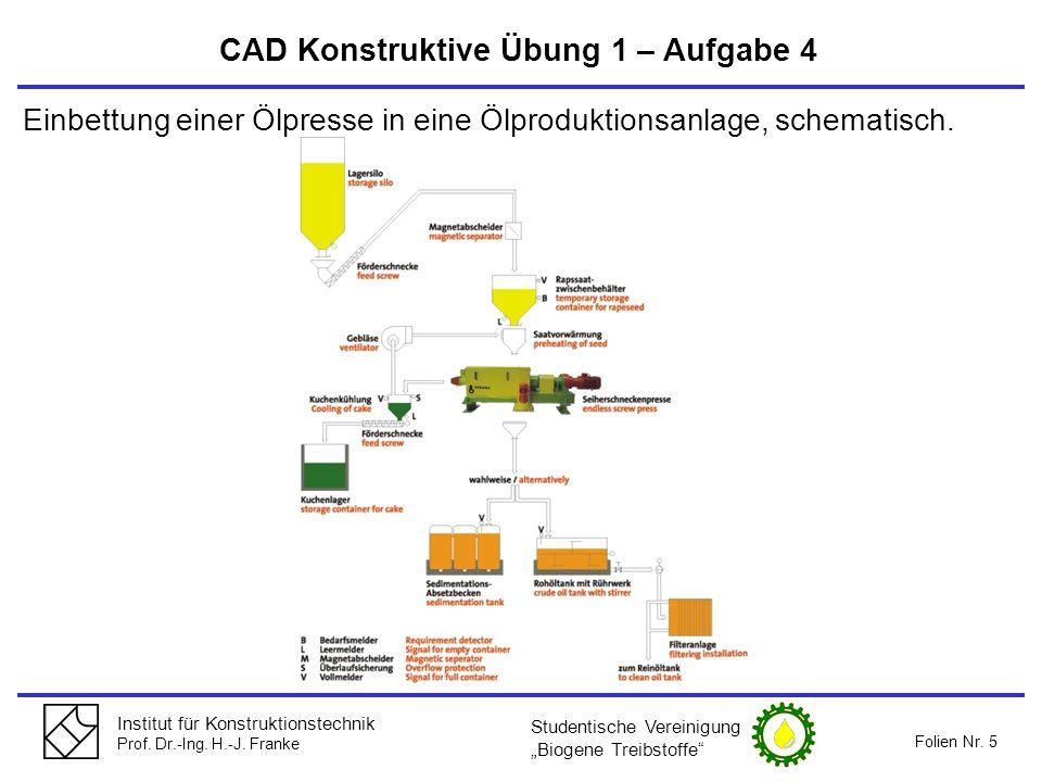CAD Konstruktive Übung 1 – Aufgabe 4