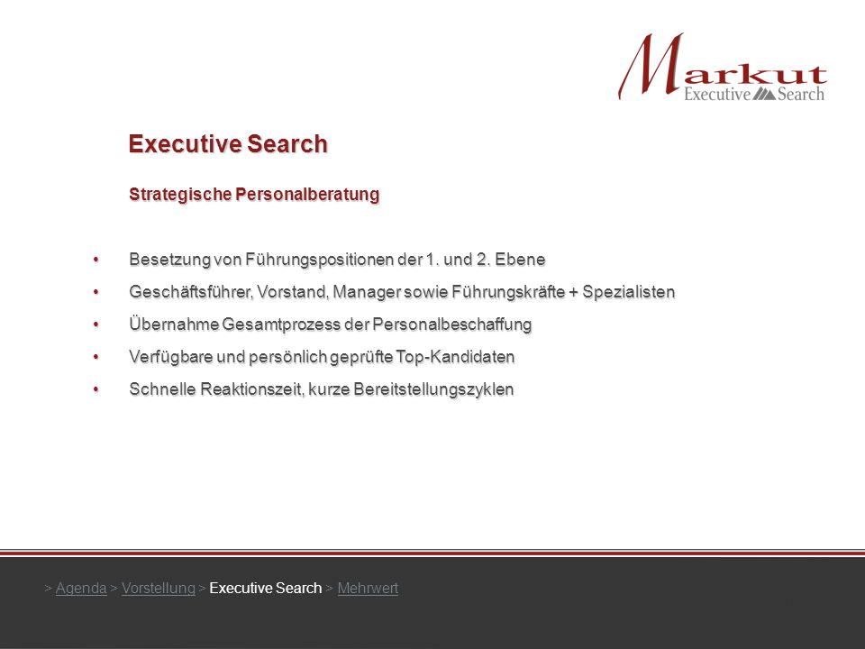 Executive Search Strategische Personalberatung