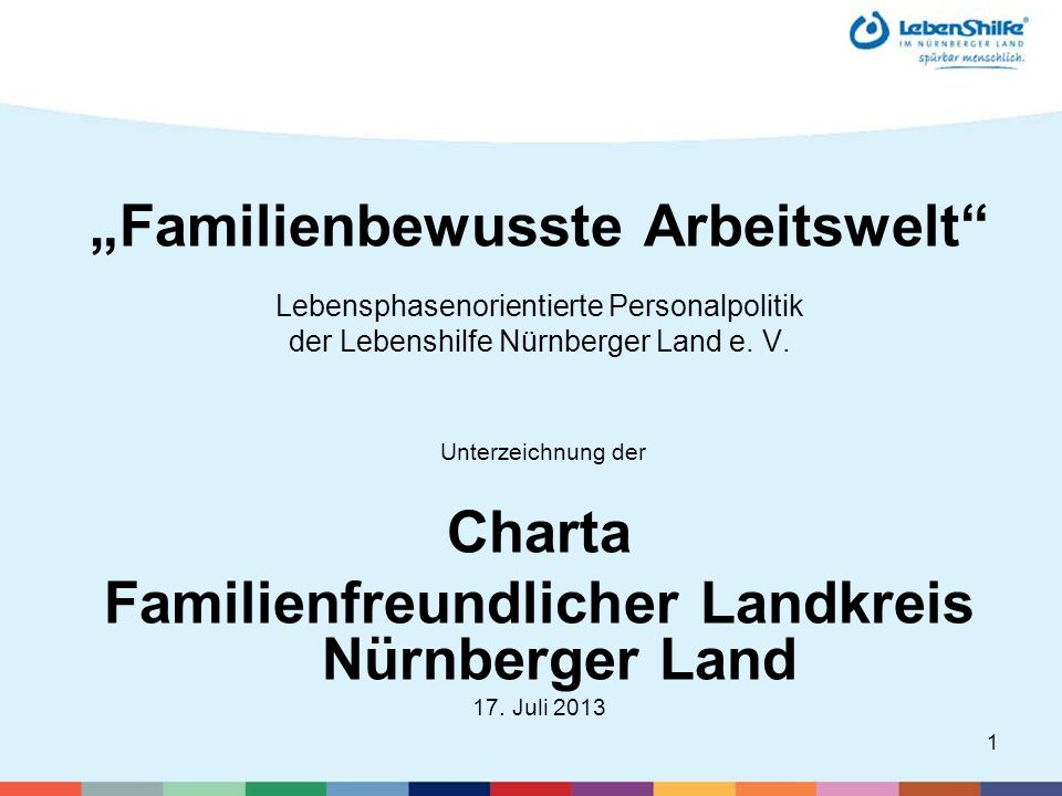 """Familienbewusste Arbeitswelt"