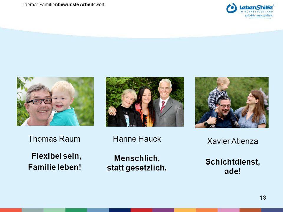 Thomas Raum Flexibel sein, Familie leben!