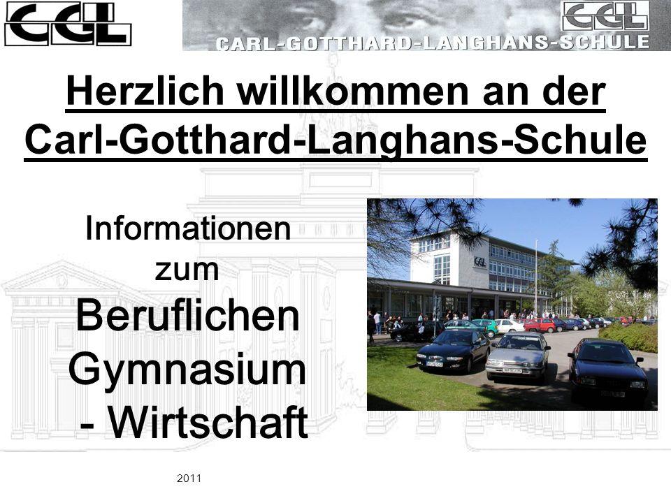 Herzlich willkommen an der Carl-Gotthard-Langhans-Schule