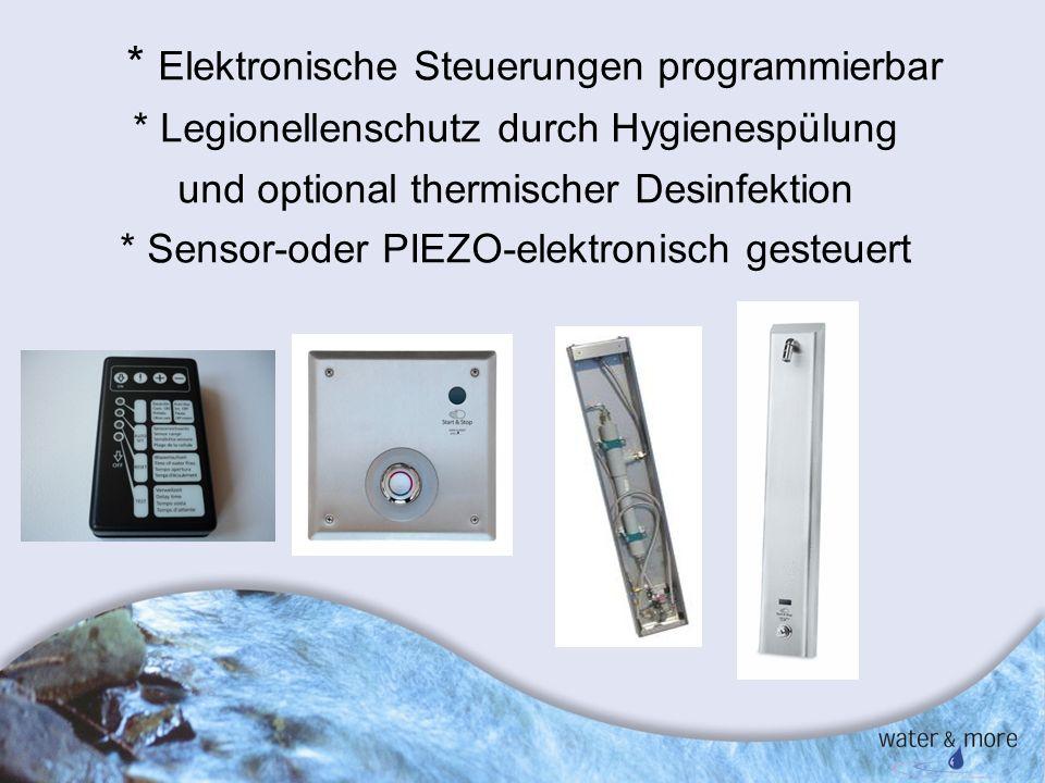 * Elektronische Steuerungen programmierbar