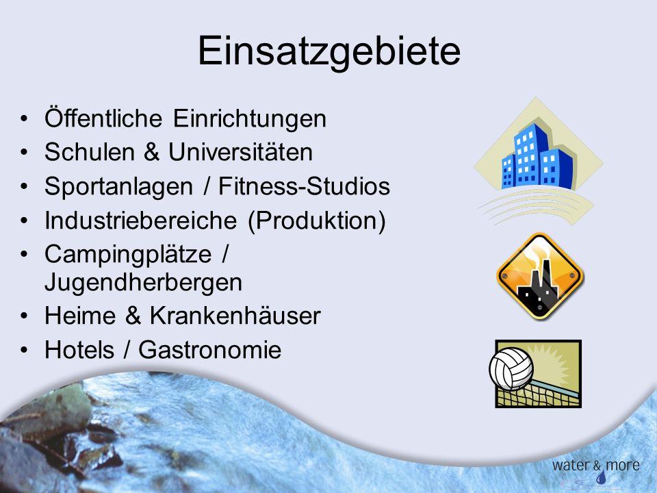 Einsatzgebiete Öffentliche Einrichtungen Schulen & Universitäten