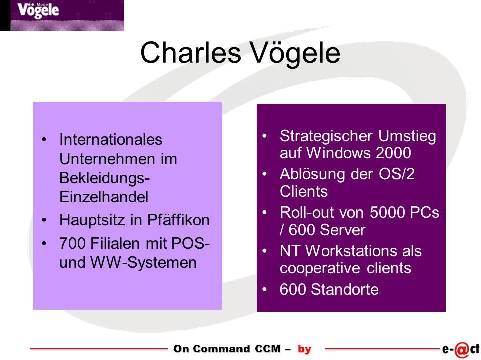 Charles Vögele Internationales Unternehmen im Bekleidungs-Einzelhandel