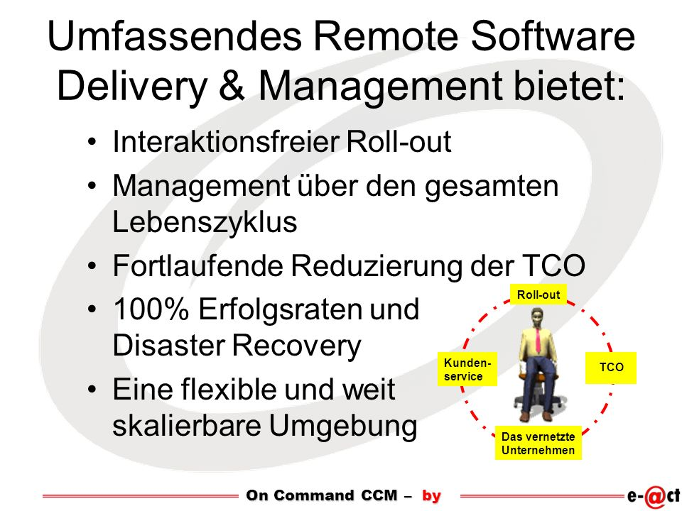 Umfassendes Remote Software Delivery & Management bietet: