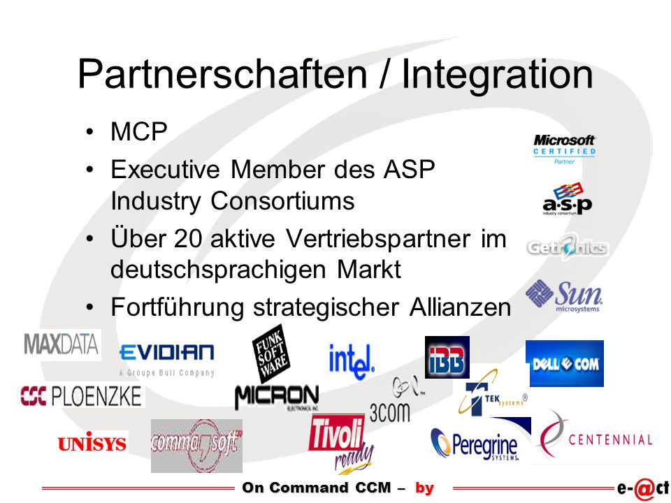 Partnerschaften / Integration