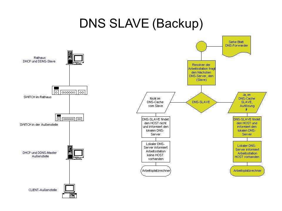 DNS SLAVE (Backup)