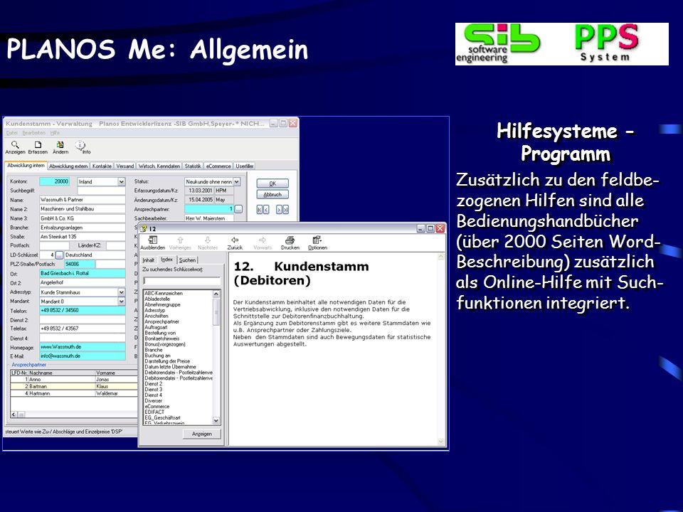 Hilfesysteme - Programmübergreifend