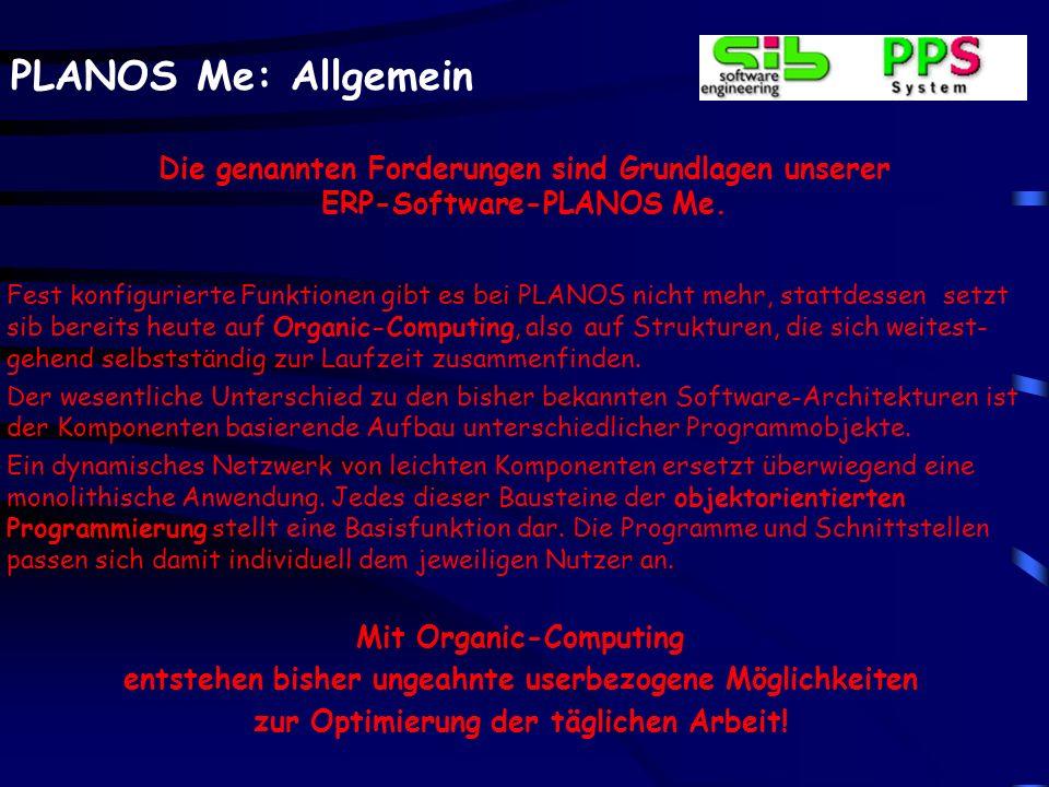 In der angewählten Präsentation erhalten Sie auf Basis von Screenshots Informationen, die für alle PLANOS-Bereiche, wie z.B. Daten- und Auftragsverwaltungen Gültigkeit haben.