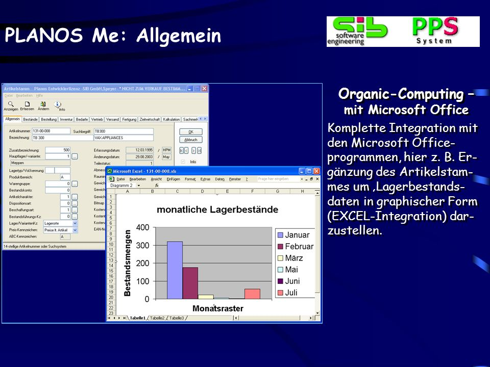 Organic-Computing – mit Microsoft Office