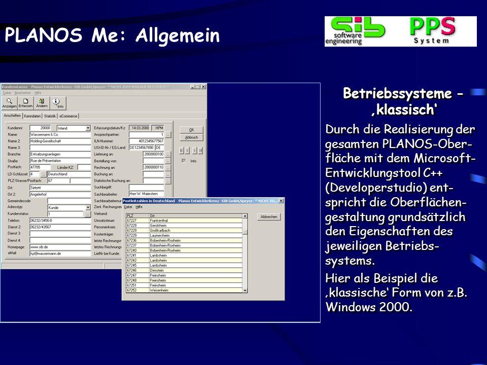 Betriebssysteme - Microsoft XP
