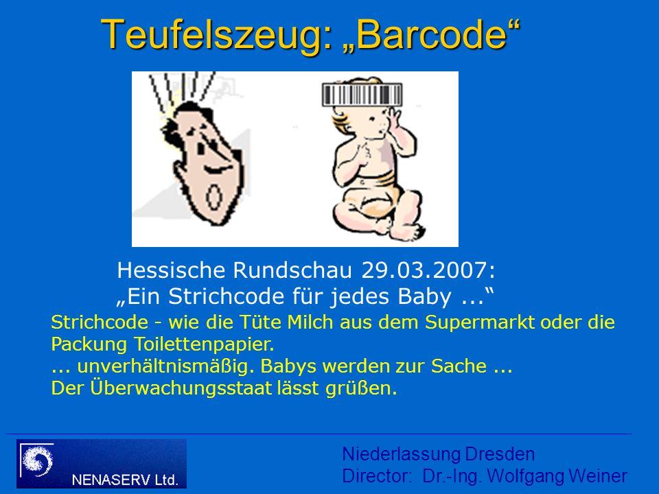 "Teufelszeug: ""Barcode"