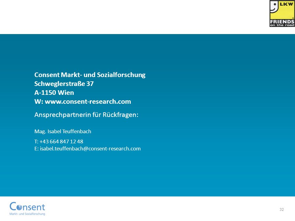 Ansprechpartnerin für Rückfragen: Mag. Isabel Teuffenbach