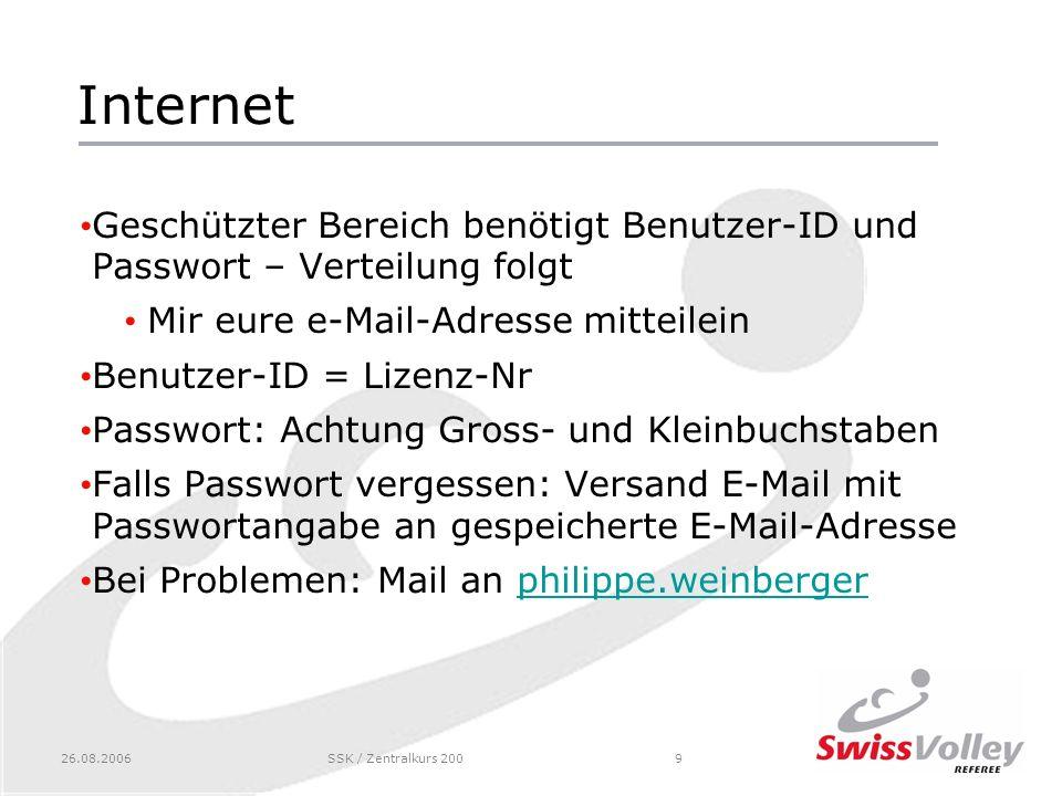 Internet Geschützter Bereich benötigt Benutzer-ID und Passwort – Verteilung folgt. Mir eure e-Mail-Adresse mitteilein.