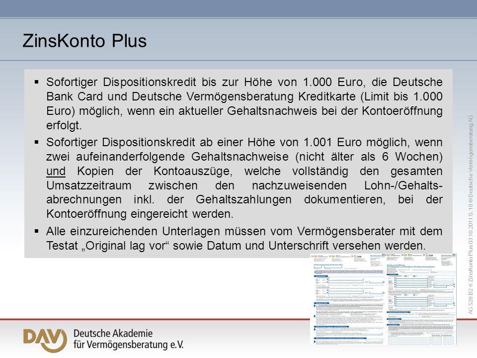 ZinsKonto Plus