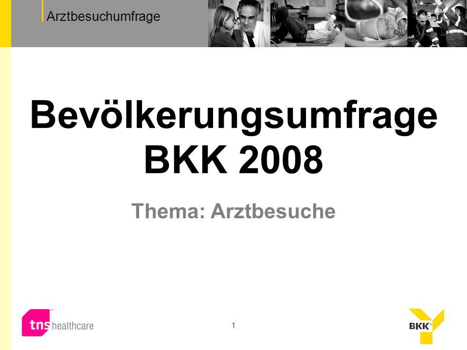 Bevölkerungsumfrage BKK 2008