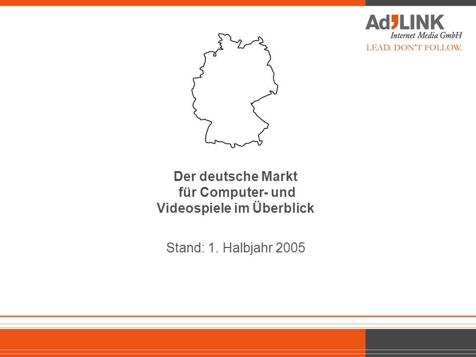 Der deutsche Markt für Computer- und Videospiele im Überblick