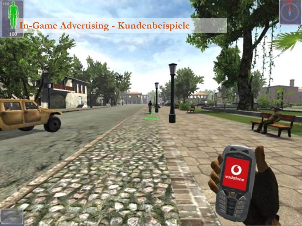 In-Game Advertising - Kundenbeispiele
