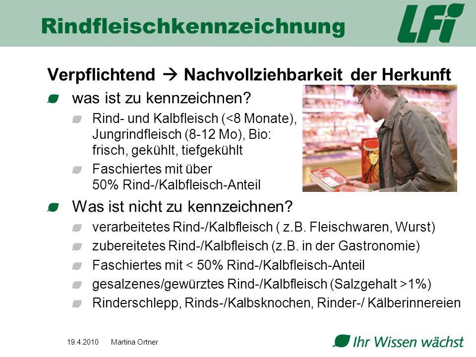 Rindfleischkennzeichnung