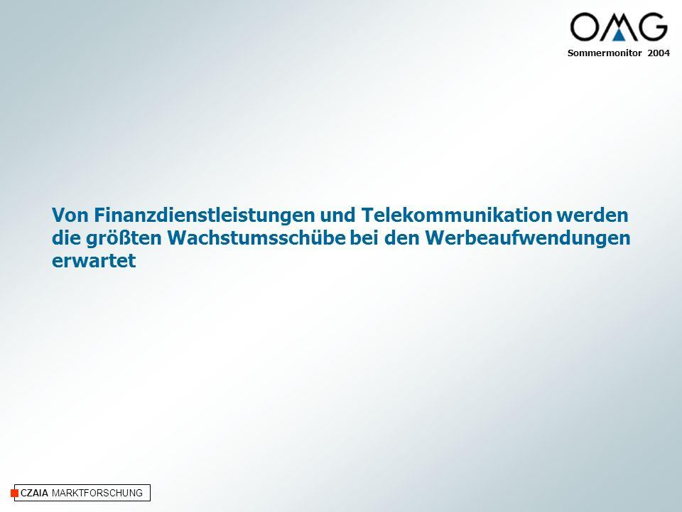 Von Finanzdienstleistungen und Telekommunikation werden