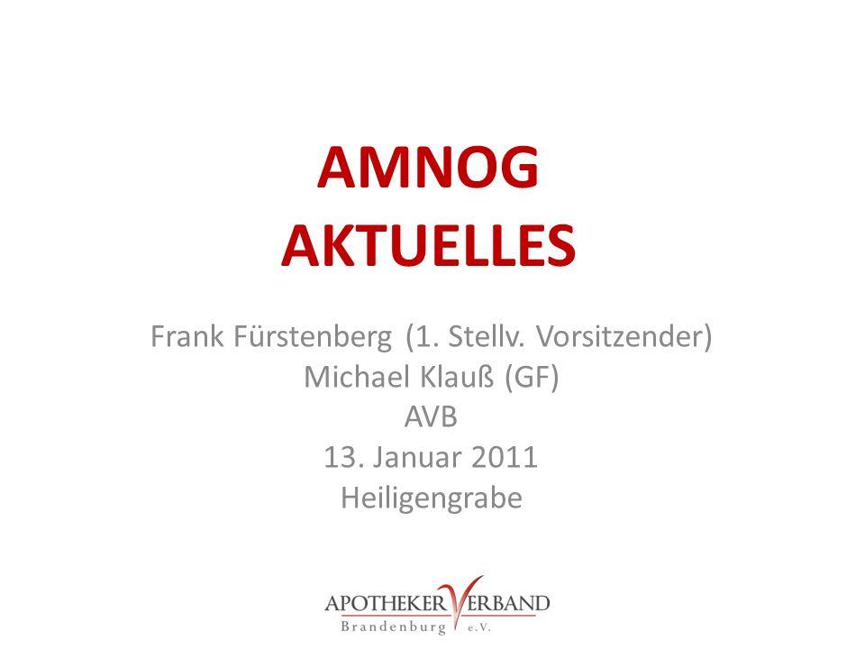 Frank Fürstenberg (1. Stellv. Vorsitzender)