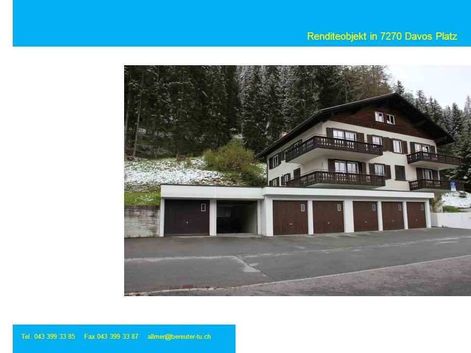 Renditeobjekt in 7270 Davos Platz