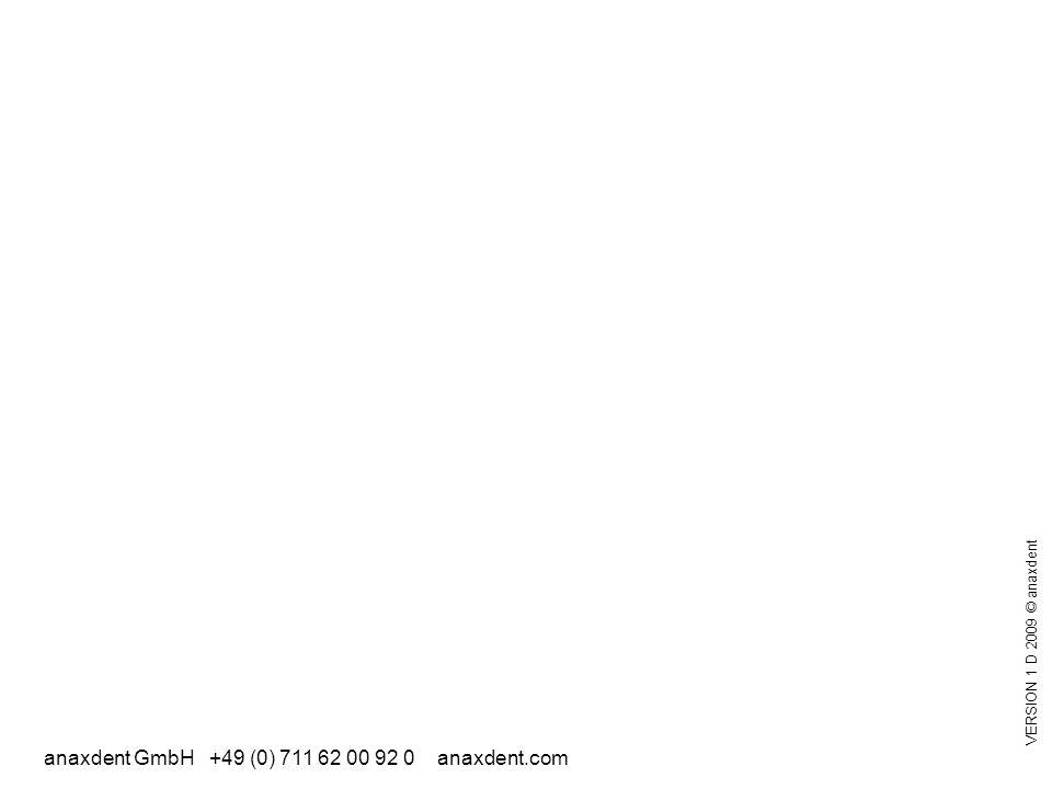 anaxdent GmbH +49 (0) 711 62 00 92 0 anaxdent.com