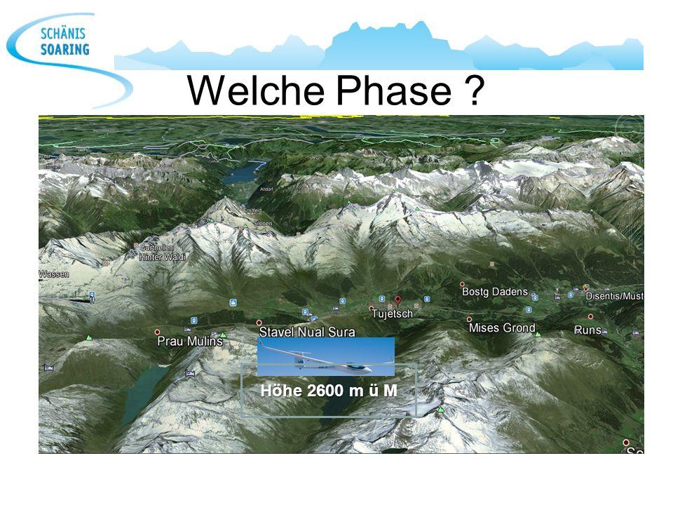 Welche Phase Höhe 2600 m ü M