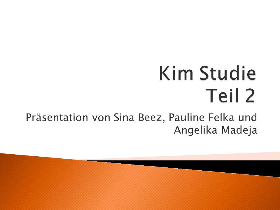 Präsentation von Sina Beez, Pauline Felka und Angelika Madeja