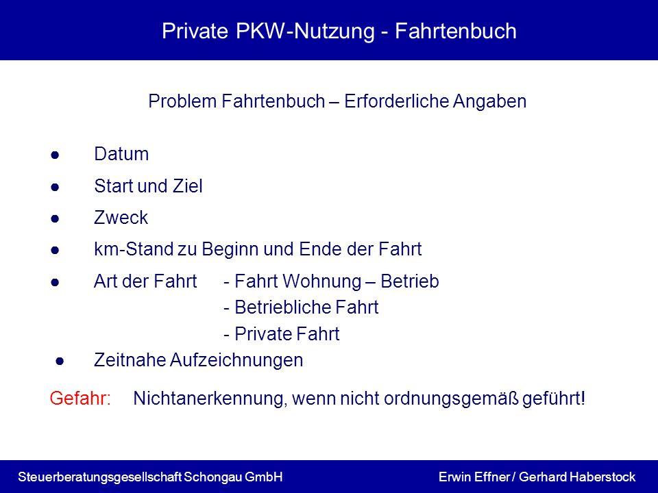 privatanteil betriebs pkw