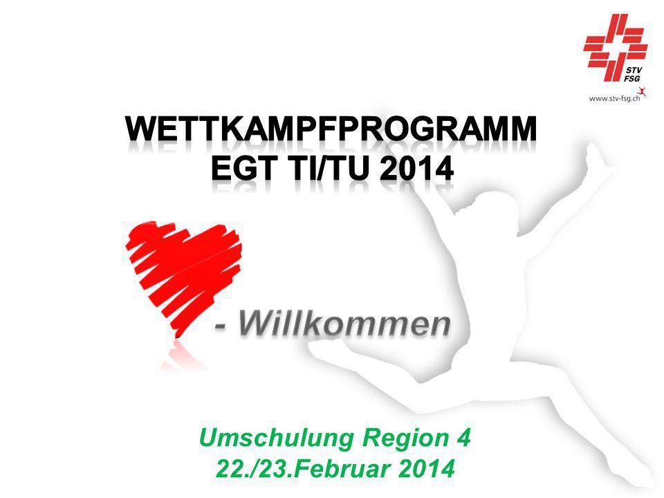 Wettkampfprogramm EGT Ti/Tu 2014