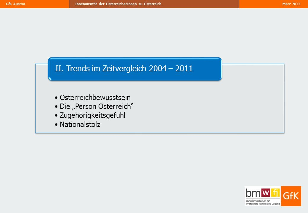 II. Trends im Zeitvergleich 2004 – 2011