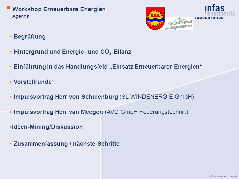 Workshop Erneuerbare Energien
